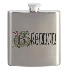 Brennan Celtic Dragon Flask