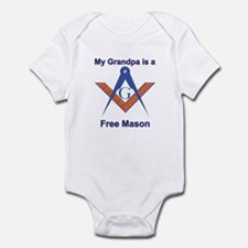 Grandpa is a Free Mason Infant Creeper