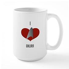 I Love Uhura Mug