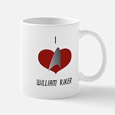 I Love William Riker Mug