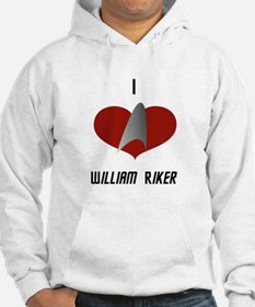 I Love William Riker Hoodie