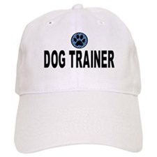 Dog Trainer Blue Stripes Baseball Cap