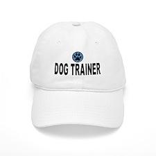 Dog Trainer Blue Stripes Cap