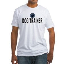 Dog Trainer Blue Stripes Shirt