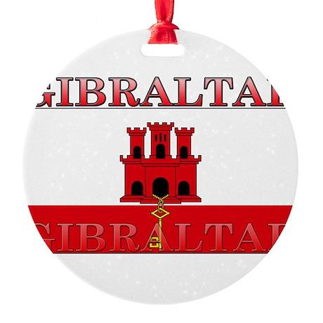 Gibraltar.jpg Round Ornament
