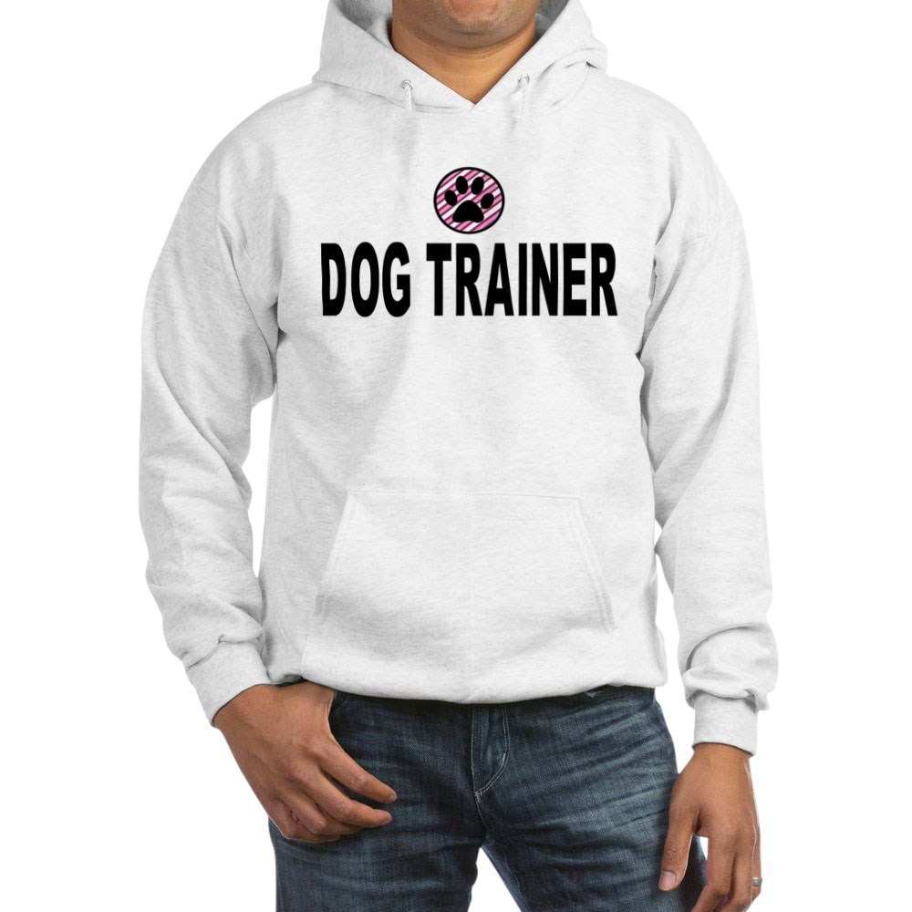 Dog Trainer Pink Stripes CafePress Sweatshirt