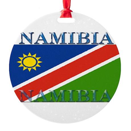 Namibia.jpg Round Ornament
