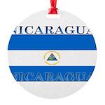 Nicaragua.jpg Round Ornament