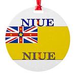 Niue.jpg Round Ornament