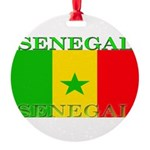 Senegal.png Round Ornament
