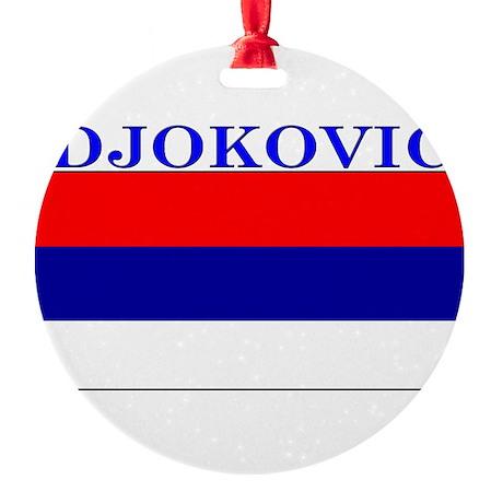 Djokovic.png Round Ornament