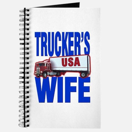 """""""Trucker's Wife"""" Journal"""
