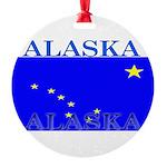 Alaska.png Round Ornament
