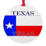 Texas.jpg Round Ornament