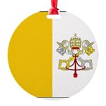 Vaticanblank.jpg Round Ornament