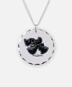 Black Cocker Spaniel Play Necklace