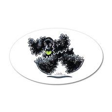 Black Cocker Spaniel Play Wall Decal