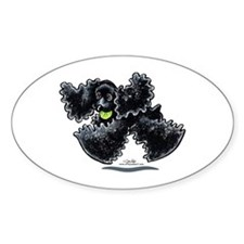 Black Cocker Spaniel Play Decal