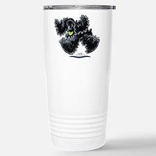 Black Cocker Spaniel Play Travel Mug