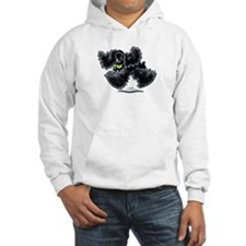 Black Cocker Spaniel Play Hoodie
