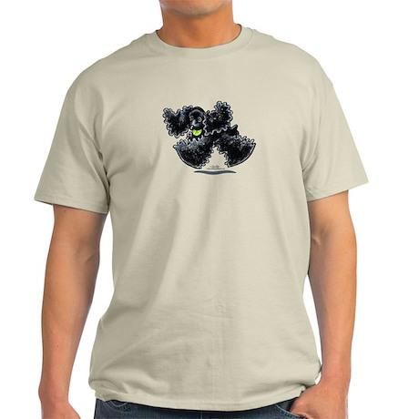 Black Cocker Spaniel Play Light T-Shirt