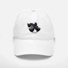 Black Cocker Spaniel Play Baseball Baseball Cap