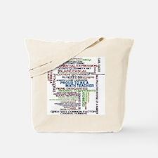 Proud Math Teacher Tote Bag