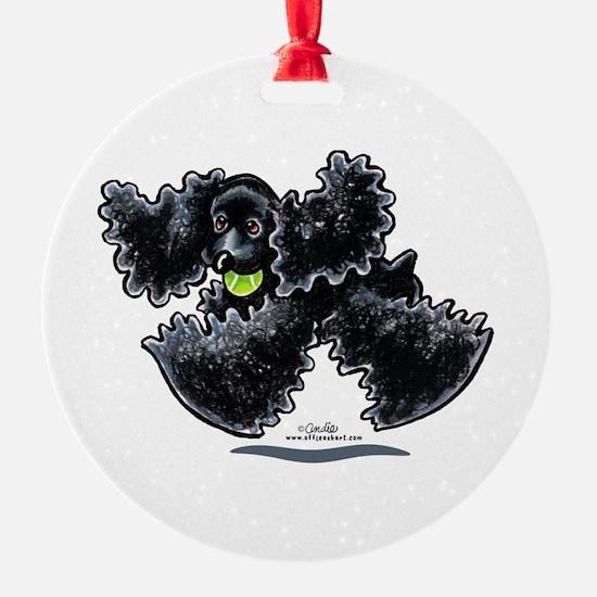 Black Cocker Spaniel Play Ornament