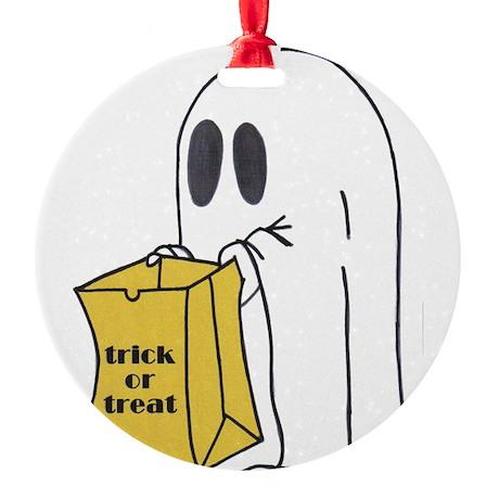 ghost 2.jpg Round Ornament