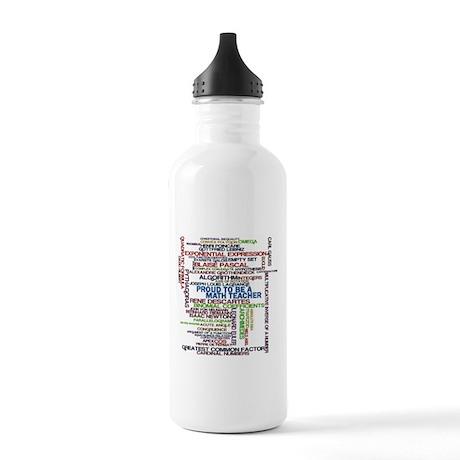 Proud Math Teacher Stainless Water Bottle 1.0L