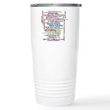 Proud Math Teacher Travel Mug