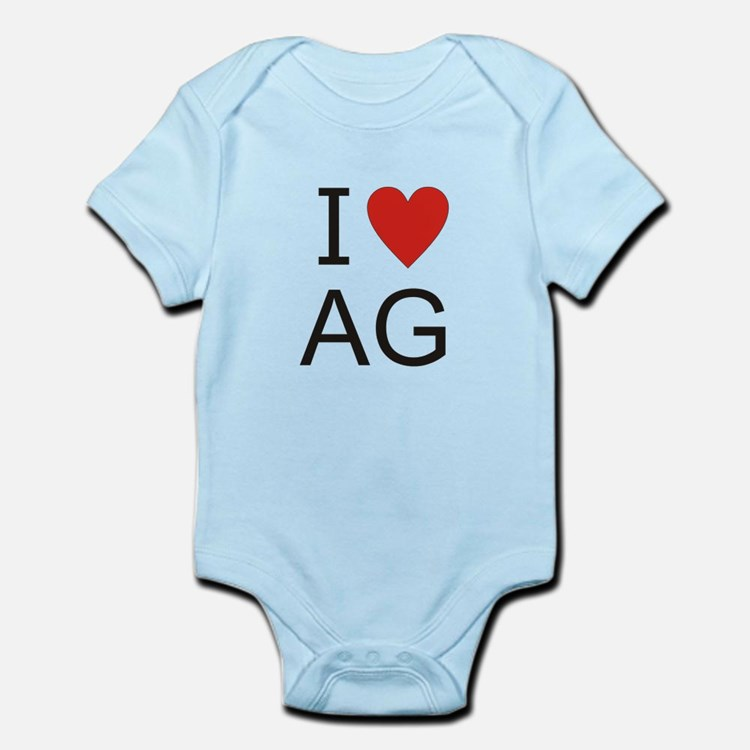 Cute Ag Infant Bodysuit