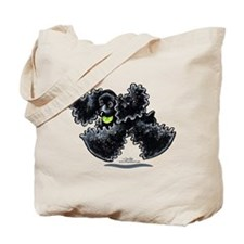 Black Cocker Spaniel Play Tote Bag