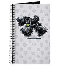 Black Cocker Spaniel Play Journal