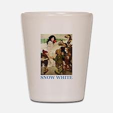 Snow White Shot Glass