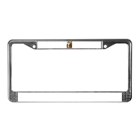 Snow White License Plate Frame