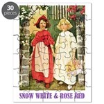 Snow White & Rose Red Puzzle