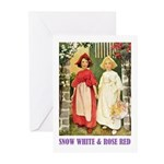 Snow White & Rose Red Greeting Cards (Pk of 10)