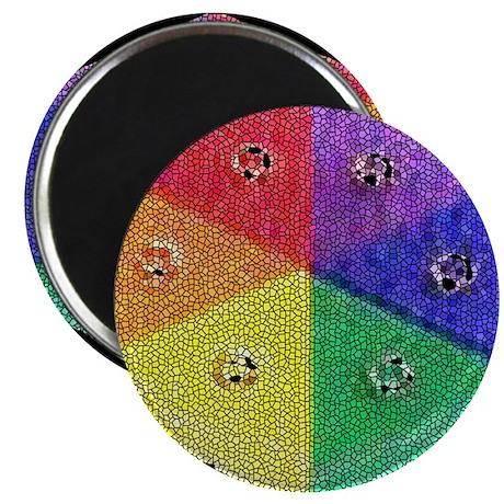 RAINBOW MOSAIC WEDGE Magnet