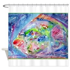 Tropical Fish! Colorful art! Shower Curtain