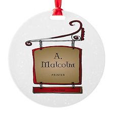 Jamie Outlander Ornament