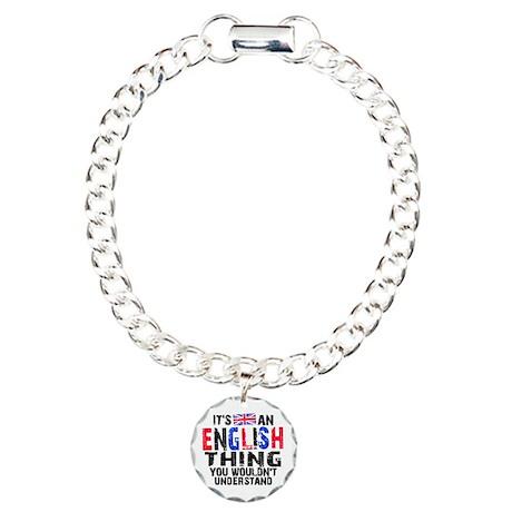 Eng Thing Btn2 Charm Bracelet, One Charm