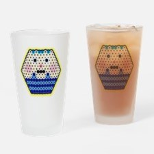 Beads Cupcake Drinking Glass