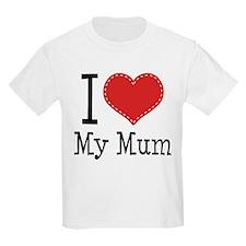 I Heart My Mum T-Shirt