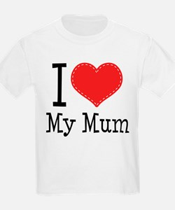 I Heart My Mum T-Shirt