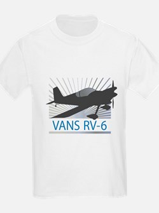Aircraft Vans RV-6 T-Shirt