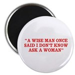 wise man merchandise Magnet