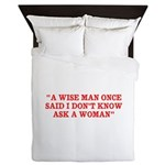 wise man merchandise Queen Duvet