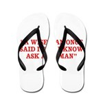 wise man merchandise Flip Flops