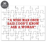 wise man merchandise Puzzle